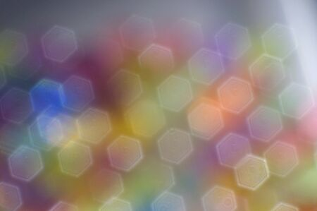 Abstract Colorful Blurry hexagons geometric shape background Stok Fotoğraf - 139297692