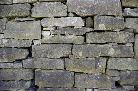 old gray brick stone wall Stok Fotoğraf - 146963643