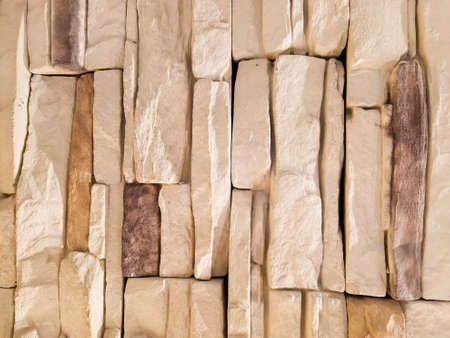 Brown Stacked Stones Wall Background