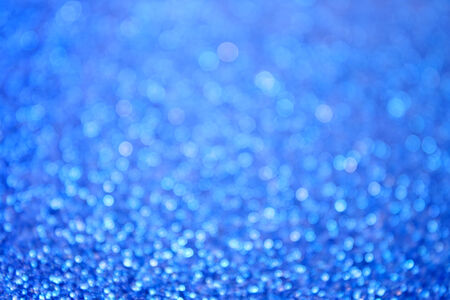 Abstract blue bokeh bubble background photo