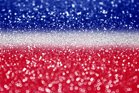 bastille: Red white and blue glitter sparkle background  Stock Photo
