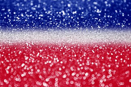Red white and blue glitter sparkle background  Standard-Bild