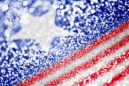 Patriotic American Flag background Фото со стока