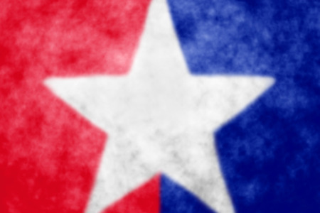 Abstract patriotic star background photo