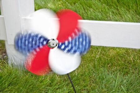 4th of July pinwheel photo