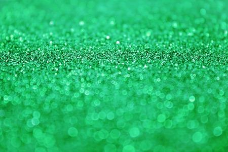 Green glitter sparkle background photo