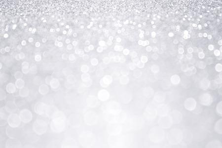 Silver glitter winter Kerst achtergrond