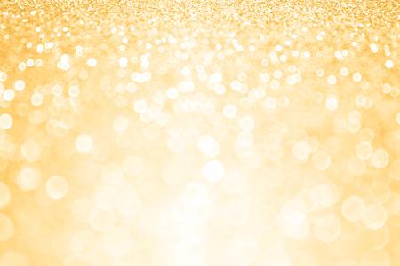 Abstracte gouden glitter confetti partij achtergrond Stockfoto