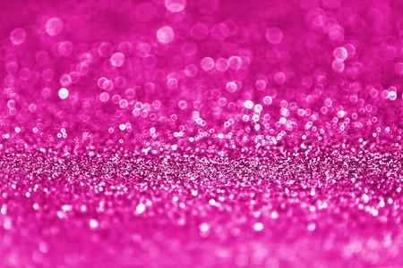 Pink glitter sparkle bridal shower party invite