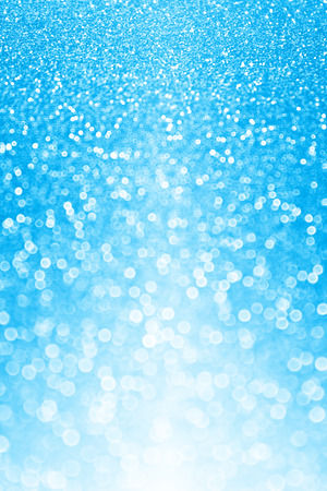 Blue glitter sparkle party background invite