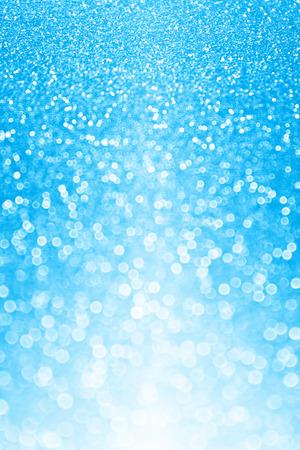 Blue glitter sparkle party background invite
