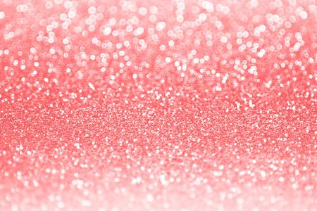 Koraal roze glitter fonkelingsachtergrond Stockfoto