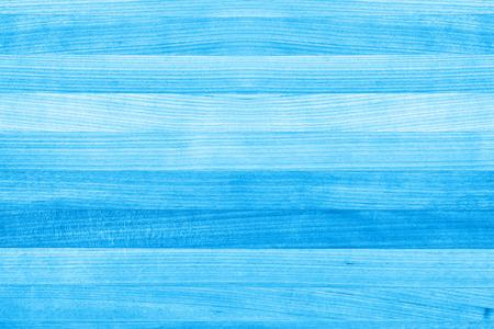 青い木製塗装テクスチャ背景 写真素材