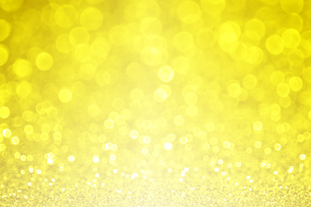 Yellow glitter sparkle background Stock Photo