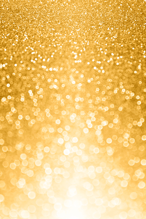 Abstract falling gold luxury glitter sparkle background party invitation