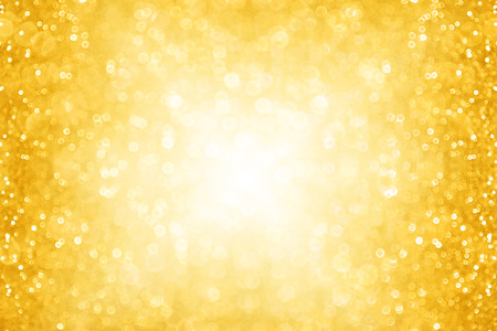 Abstract gold Christmas glitter sparkle background