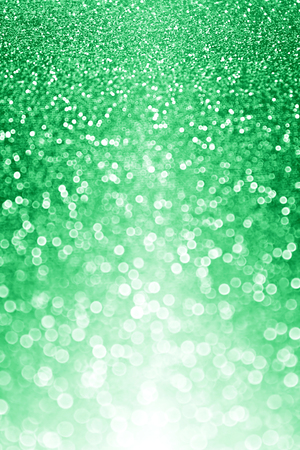 st patty day: Green glitter sparkle confetti burst background or party invite