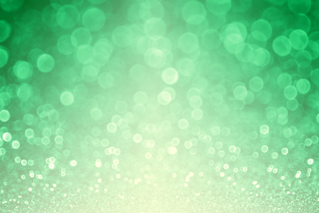 st patty day: Green glitter sparkle Spring St Patricks Day sale background Stock Photo