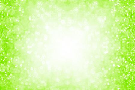 Neon green glitter sparkle background or party invite