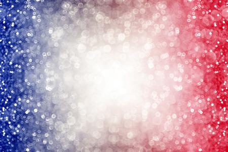 Abstracte pattic rood wit en blauw glitter schittering barsten achtergrond