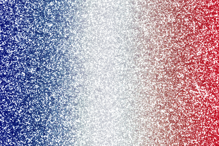 Abstract patriotic red white and blue glitter sparkle confetti background texture