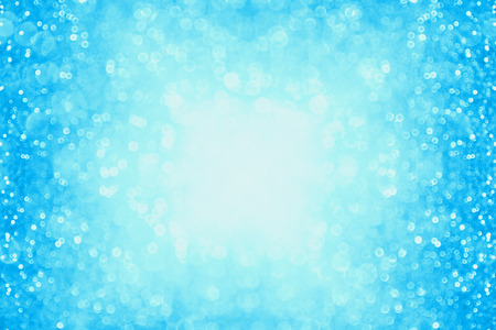 Pastel blue glitter sparkle background confetti party invite or poster 版權商用圖片