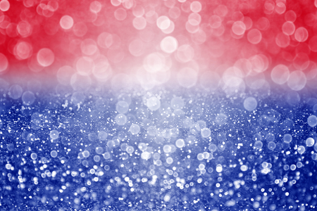 blue abstract: Abstract patriotic red white and blue glitter sparkle background