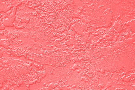 Abstract coral pink or peach and salmon color paint wall texture background
