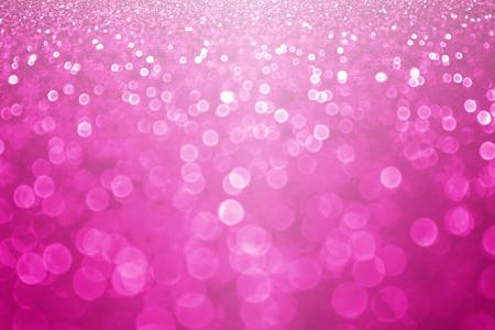 Fuchsia magenta and hot pink glitter sparkle background or confetti party invitation Archivio Fotografico
