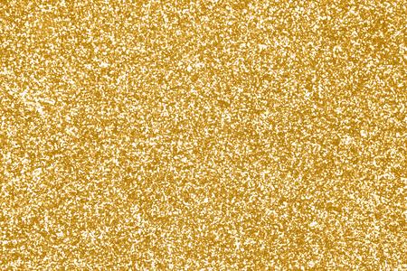 エレガントなゴールド キラキラ輝き紙吹雪背景やお誕生日おめでとう、派手なゴールデン クリスマス テクスチャのパーティ招待 50 周年、光沢のあ 写真素材