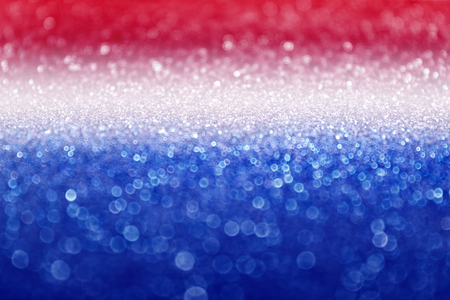 Abstract patriotic red white and blue glitter sparkle background for voting, memorial, labor day and election Stock Photo - 77959597