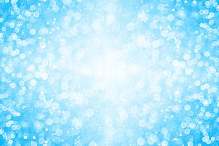 Abstract blue glitter sparkle background for happy birthday confetti, underwater pool swim party flyer, Summer, sea water bubble splash drop, children border burst pattern or wedding invitation