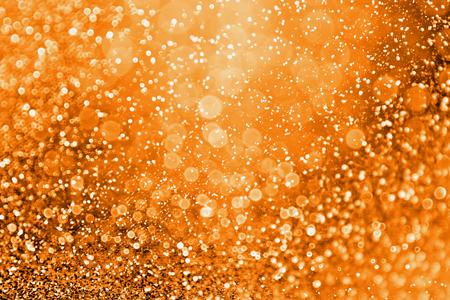 Astratto moderno scintillio arancione scuro scintillio sfondo per buon compleanno invito, spooky Fall Halloween partito modello magico, ottobre kid dolcetto o scherzetto notte, fuoco, Thanksgiving Autumn gala o vendita Archivio Fotografico - 84547657