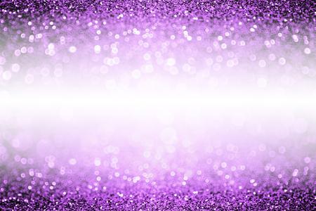 Abstract purple glitter sparkle confetti background for happy birthday party invite, Spooky kid Halloween magic trick treat flyer, mardi gras sale, woman dance backdrop or Christmas luxury glam border 版權商用圖片