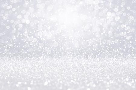 우아한 추상 실버 화이트 반짝이 반짝이 색종이 조각 생일 축하 파티 초대장, 크리스마스, 명품 다이아몬드 blitz glitz shine, 떨어지는 겨울 눈, 25 주년 기