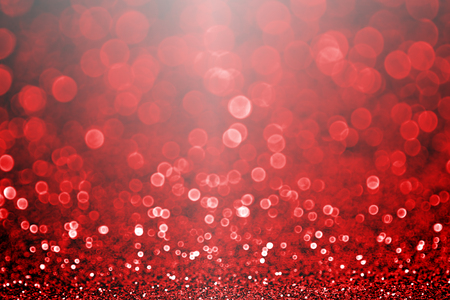 Abstract dark black red glitter sparkle confetti background or party invite for happy birthday, bridal wedding evening, Valentine�s Day love beauty, fancy luxury Christmas card or new years eve night Foto de archivo