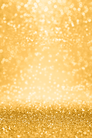 Elegant gold glitter sparkle confetti background for golden happy birthday party invite, 50 wedding anniversary gala, glitz and glam, dance banner, Christmas coupon or New Year�s Eve champagne texture 版權商用圖片 - 91831712