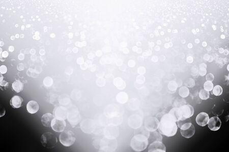 Fancy silver white glitter sparkle confetti