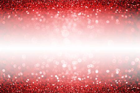 Fancy dark ruby red black glitter sparkle confetti background for happy birthday party invite, Valentine Day love beauty border, New Year Eve, glitzy rose wine banner, Christmas or wedding garnet Stock Photo