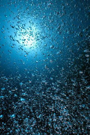 bulles et océan