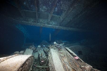 Cargo of the SS Thistlegorm. photo