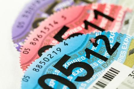 tax: DVLA Tax Disc