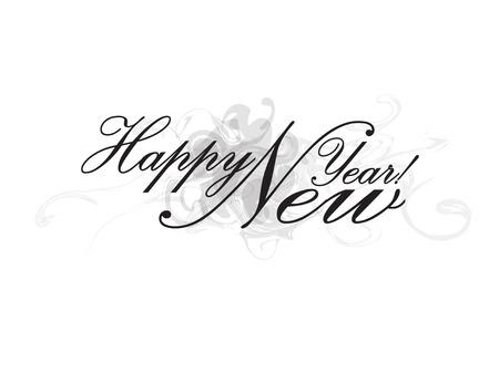 Happy New Year Stok Fotoğraf