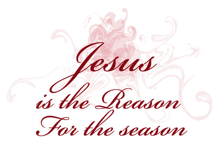 Jesus is the reason for the season Stock Photo
