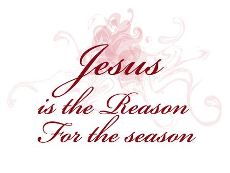 Jezus is de reden voor het seizoen
