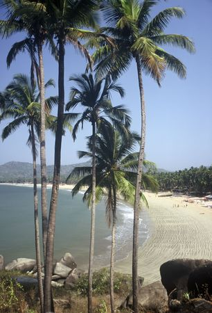 Palolem Beach,Goa,India Stock Photo
