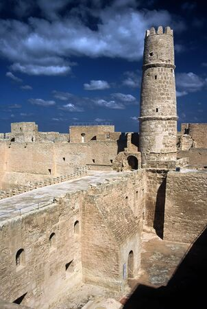Tower of the Ribat in Monastir ,Tunisia