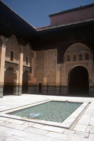 marrakesh: Palace in the Medina in Marrakesh,Morocco