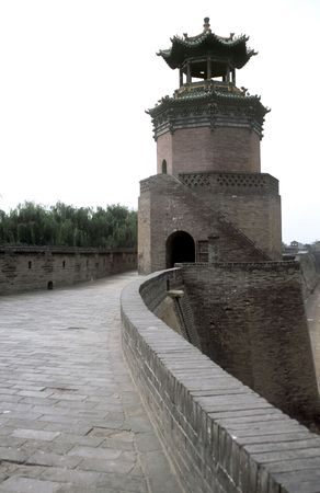 Watchtower in Pingyao Shanxi Province, China
