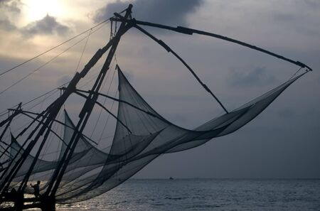 fisher: Fisher nets,Cochin,India